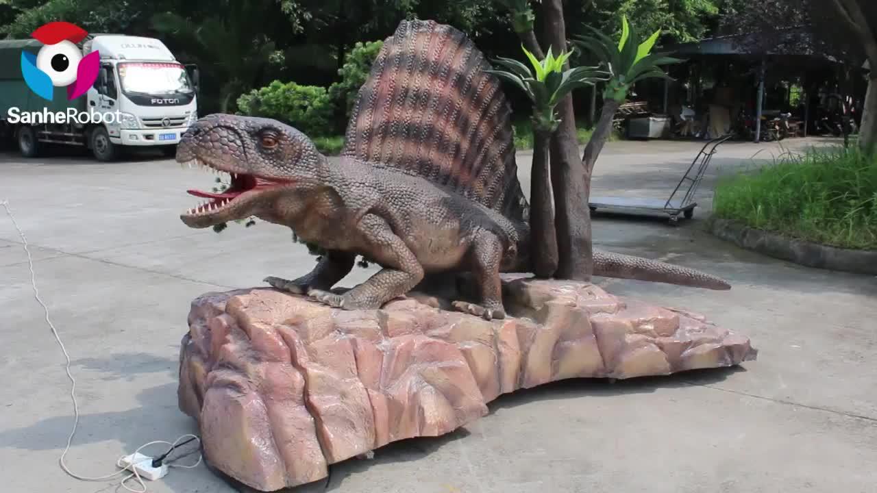 Simulation Animatronic Dinosaur Model Dinosaur Park