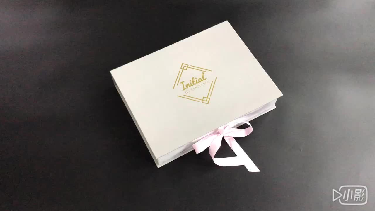 new design paper gift box packaging for bomboniere wedding