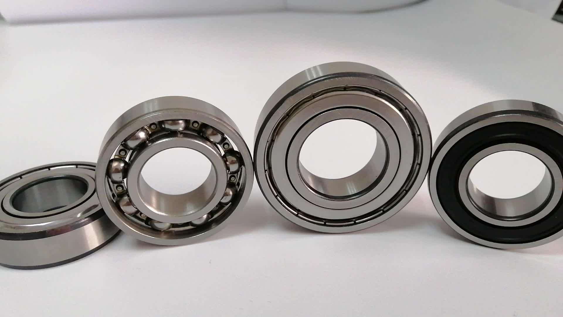 Yüksek hassasiyetli 61930 ww89 fazla stok gümrükleme paslanmaz çelik rulman ince boyutu inç v groove rulman 61900