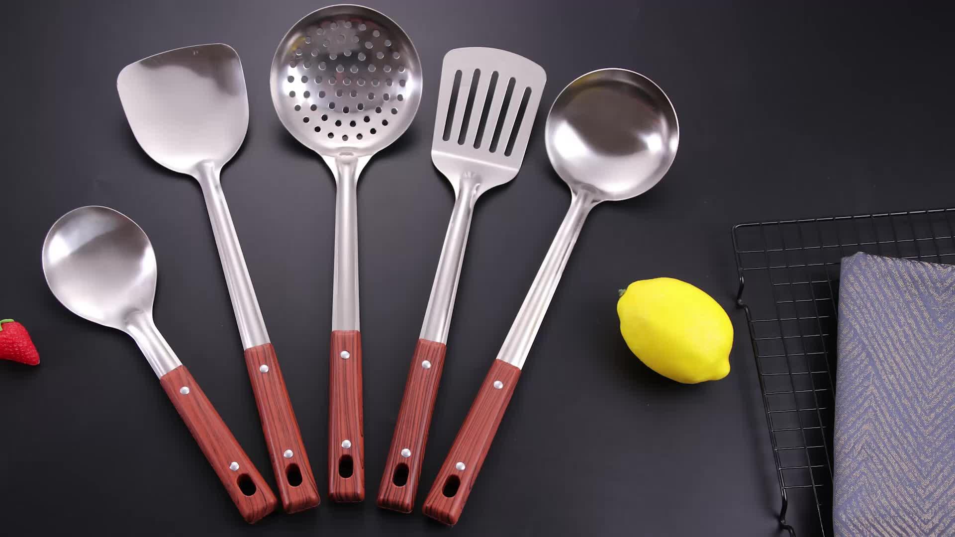 Кухонная утварь высокого качества из нержавеющей стали Kichen инструменты аксессуары набор кухонной утвари