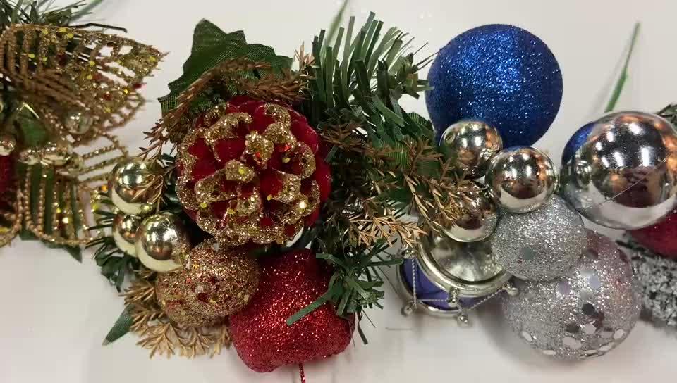 2020 New Popular Design christmas wreath decorations picks