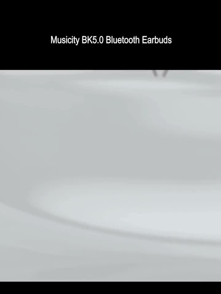 Musicity BK5.0 Tws Wireless Earbuds Headset Bluetooth Earphone