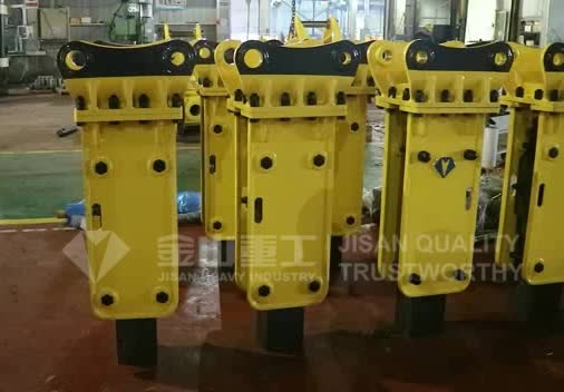 hot sale hydraulic hammer, hydraulic breaker with chisel 155mm