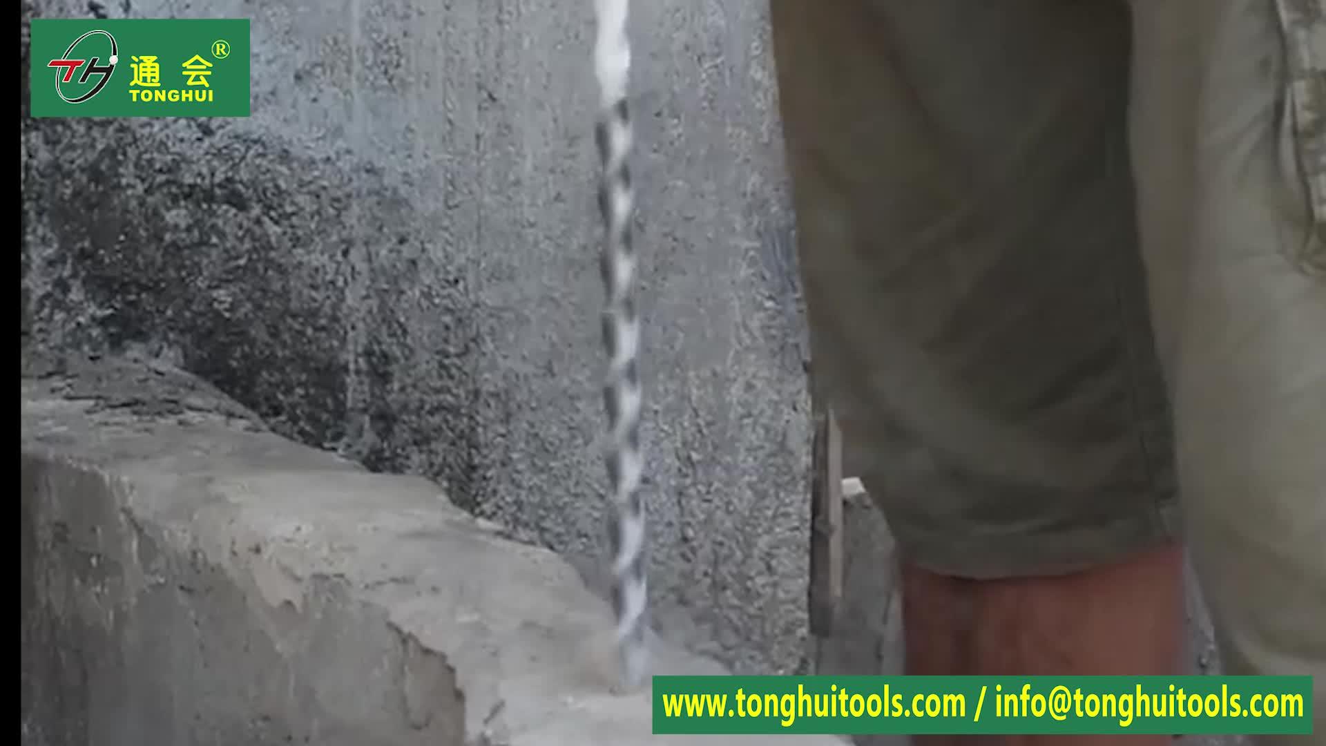 Tay Công Cụ SDS Cộng Với Max Tungsten Carbide Điện Hammer Khoan Bit cho Bê Tông và Vữa