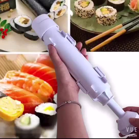 Kitchen Easy Cooking Tools Tube Shape Food Sushi Mold Maker