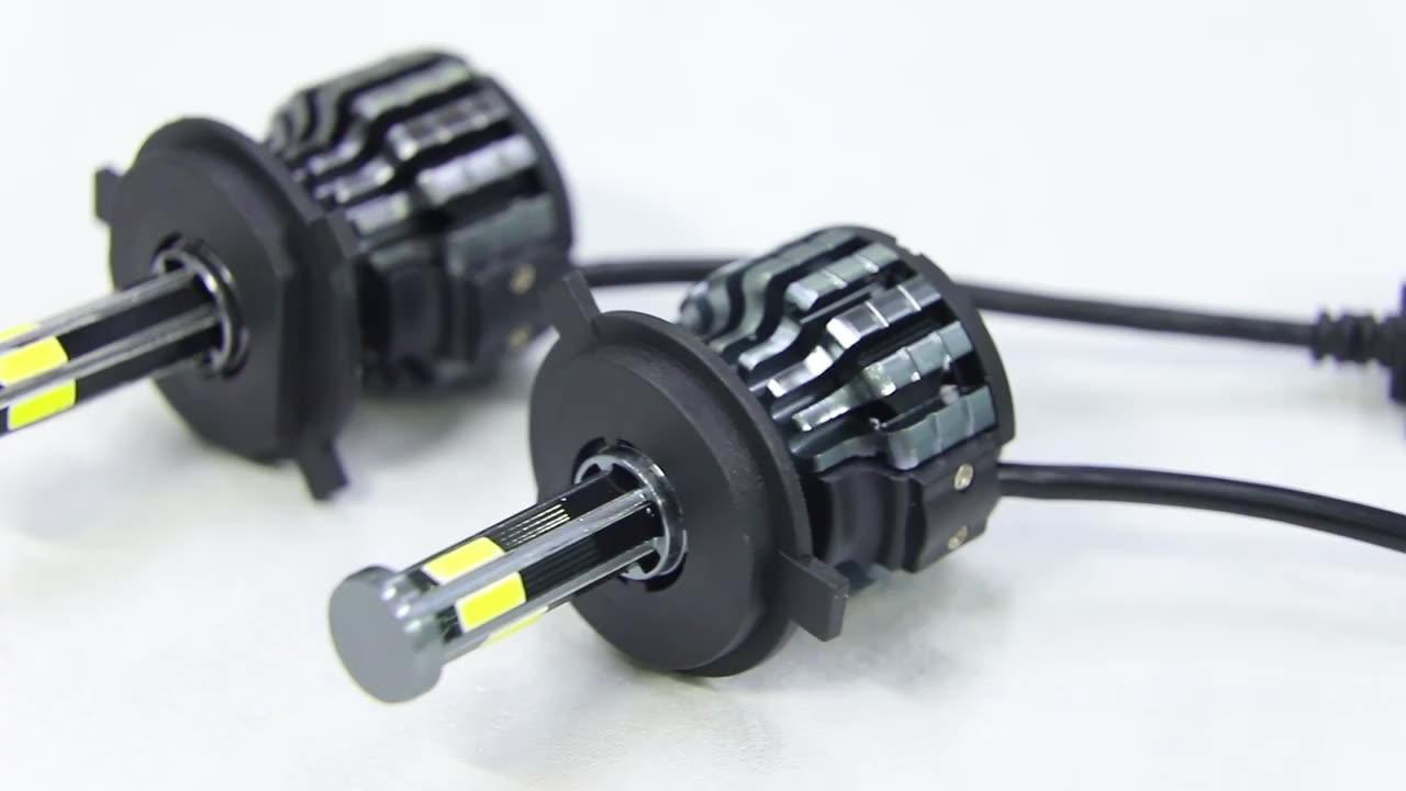 자동차 시스템 360 Led 자동차 전조등 H4 H7 H11 880/881 5202 헤드 라이트