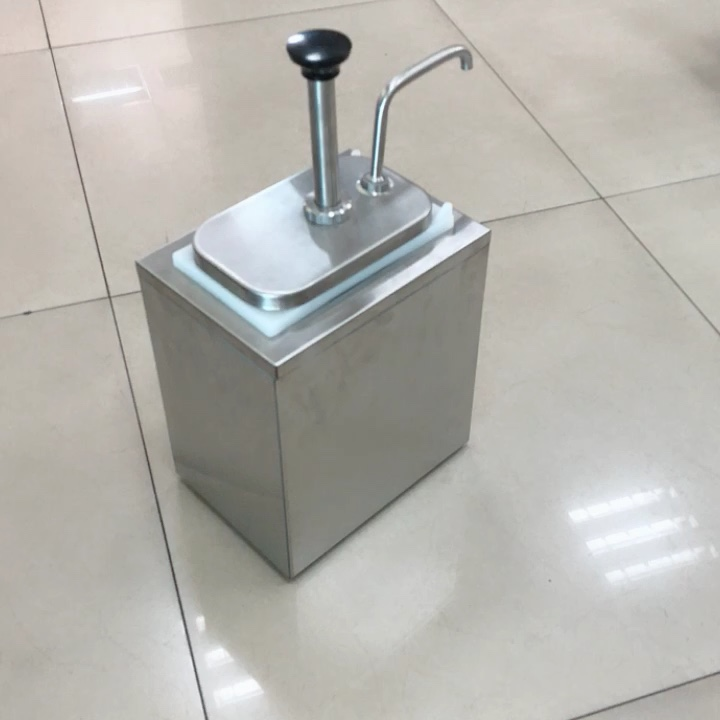 Top quality  Ketchup Sauce condiment pump dispenser for Restaurant