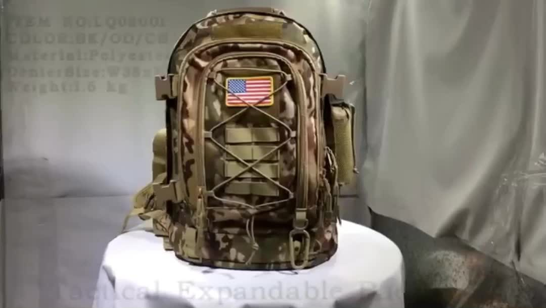 Military Tactical Backpack, Large 3 Day Army Molle Assault Rucksack