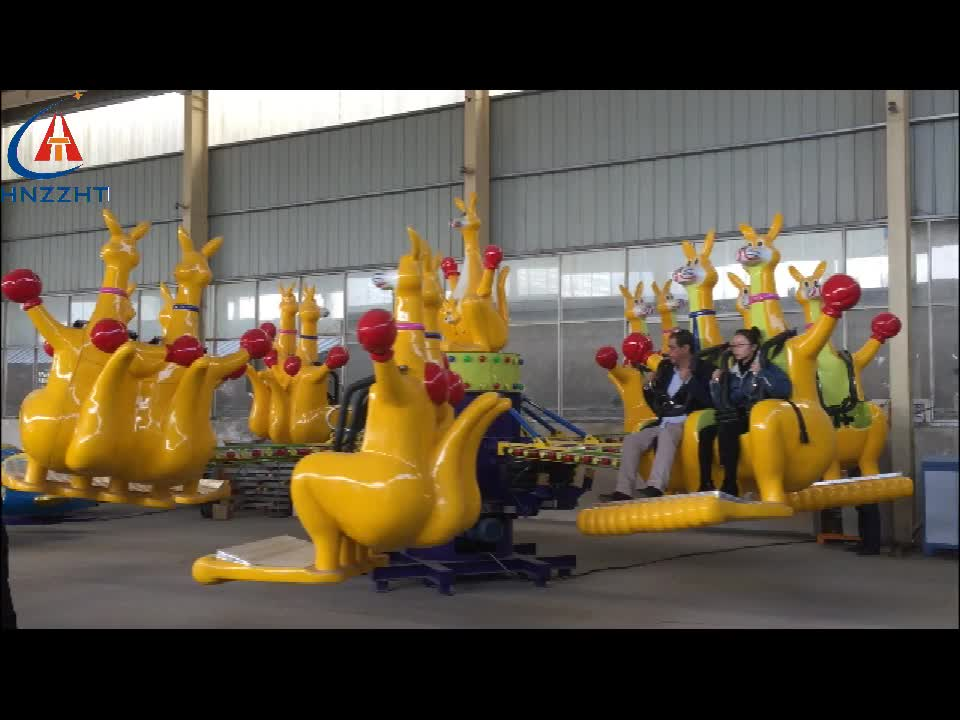 Hot Sale Amusement Park Children Ride Jumping Kangaroo