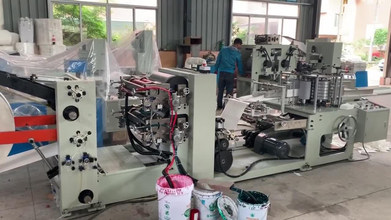 Machine de fabrication de serviettes en papier pour petites entreprises