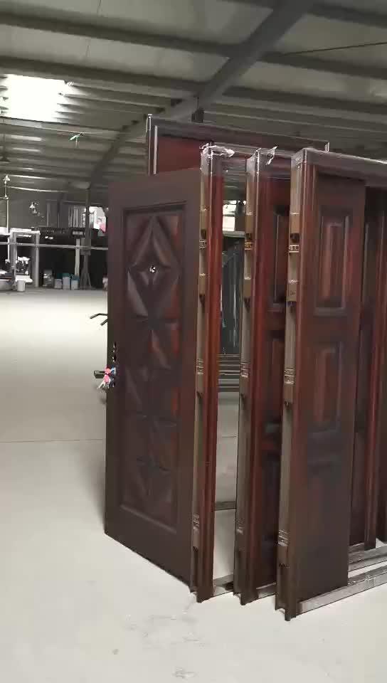 आंतरिक इस्पात लकड़ी के दरवाजे/आंतरिक आधुनिक Wood-D009