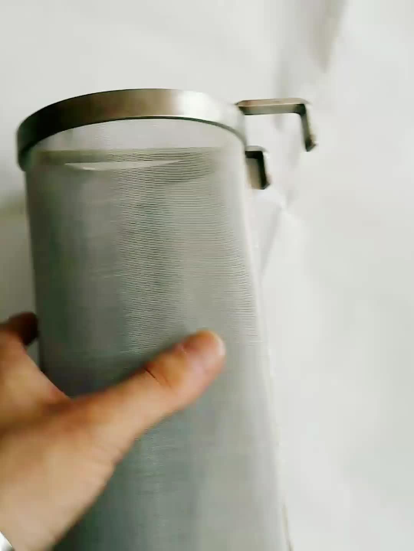 स्टेनलेस स्टील के साथ हॉप फिल्टर छलनी चम्मच घर चल बियर केतली Homebrew के लिए हॉप छलनी