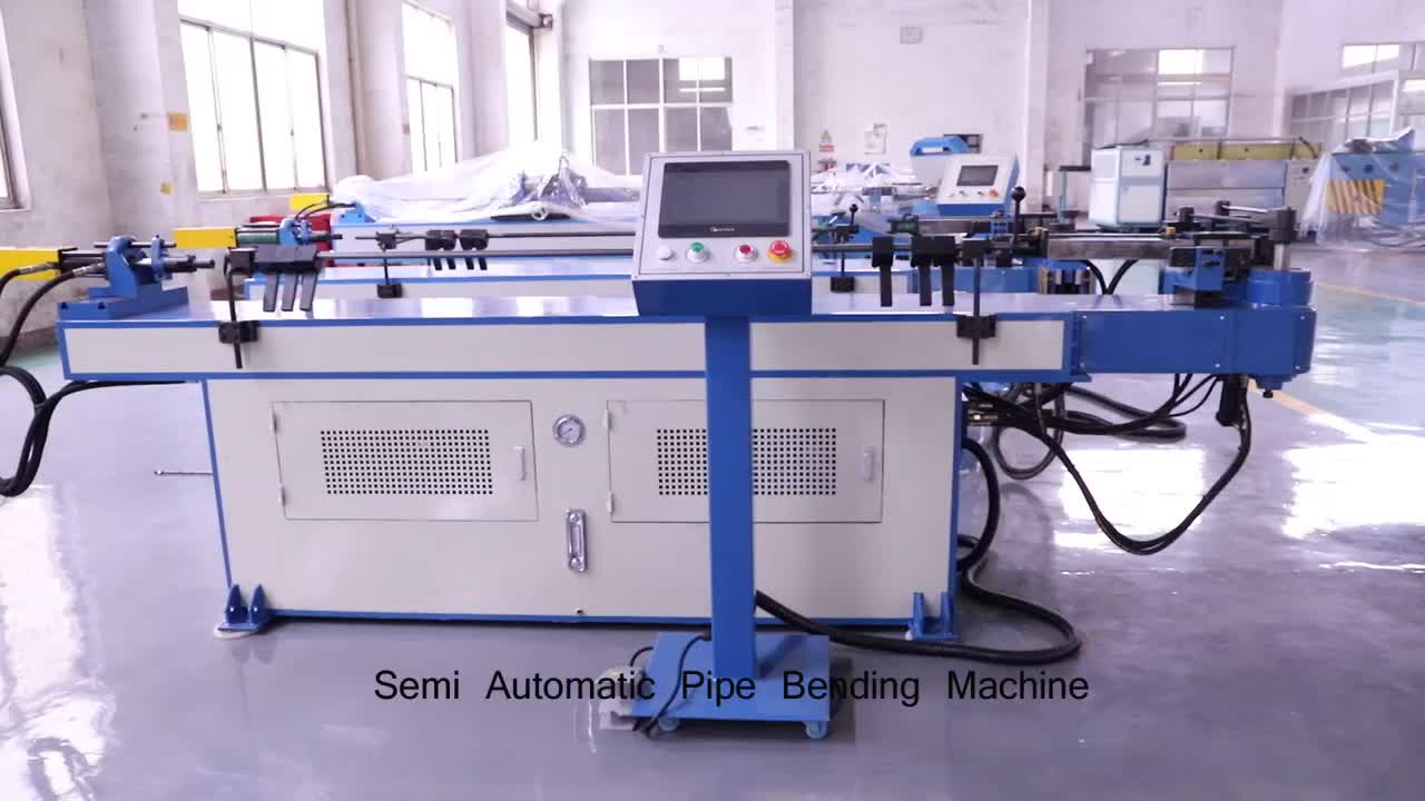 China Manufacturer Automatic Bender CNC Pipe Tube Bending Machine with Ce Certification(GM-SB-38CNC-2A-1S)