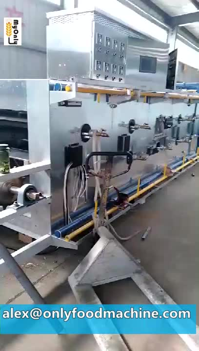 Continuous baking tunnel oven for biscuits low price