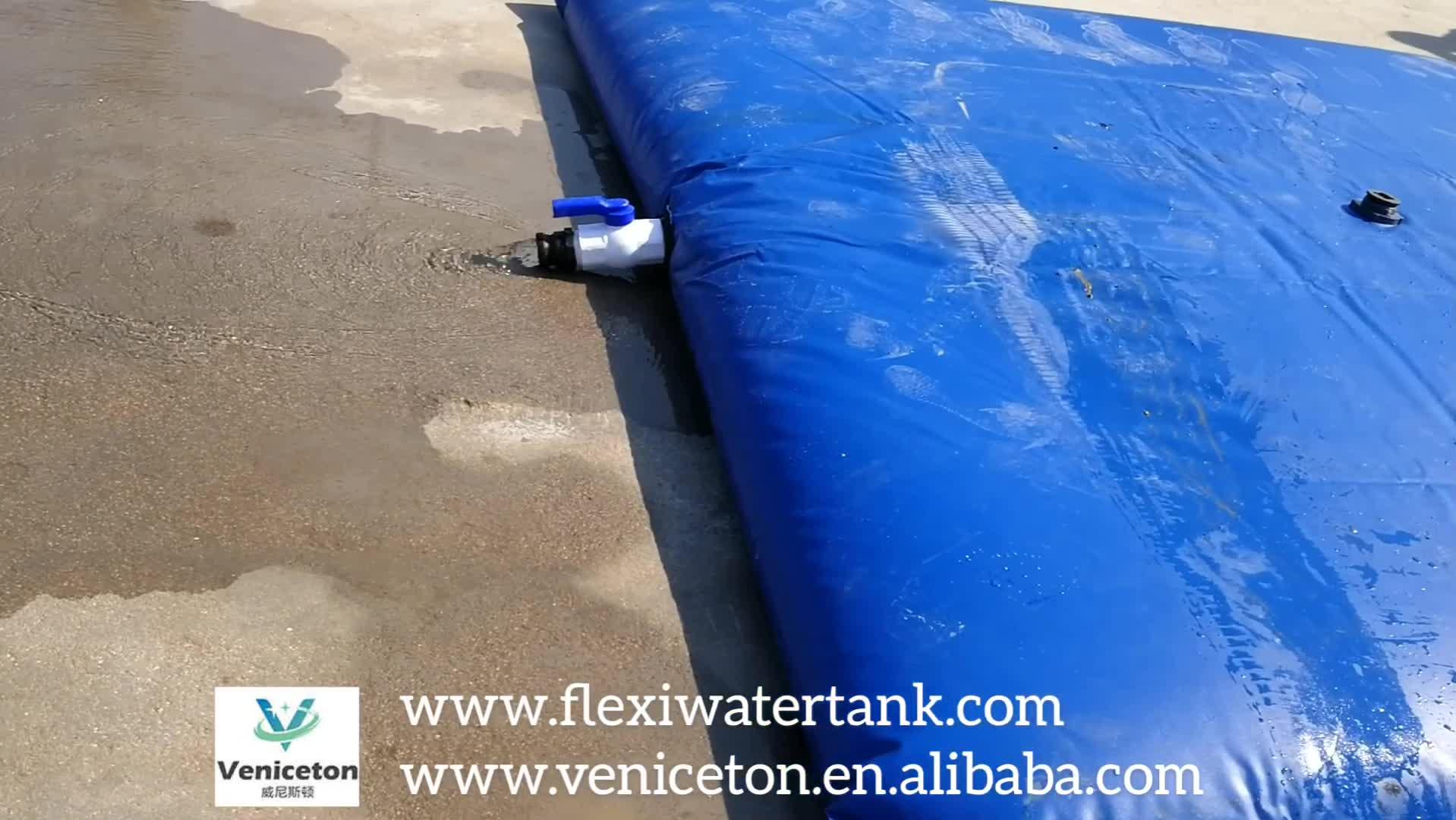 Cuscino serbatoio di acqua serbatoio di acqua della vescica flessibile del carburante telone
