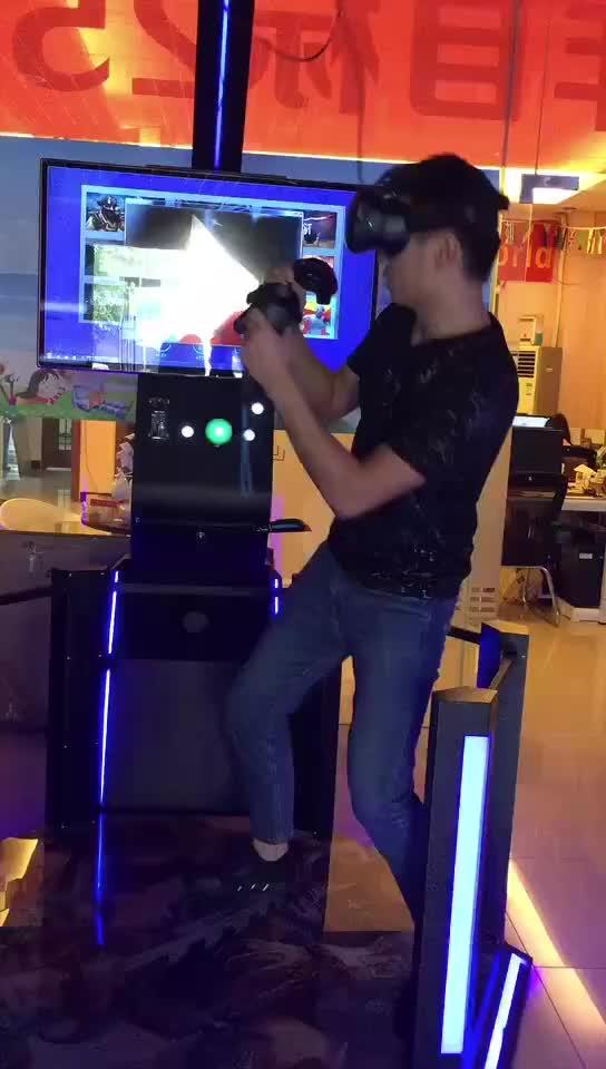 เกมเสมือนจริง Mini แพลตฟอร์ม VR เกมอาเขตเกมจำลอง