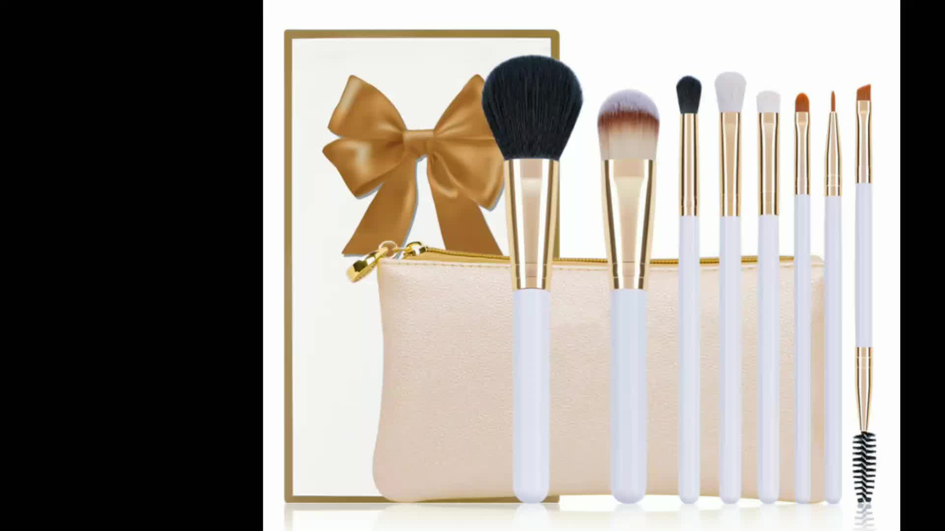 Top Quality Professional 메이 컵 Brush Kit 와 8 pcs Beautiful 브러쉬 as A Set