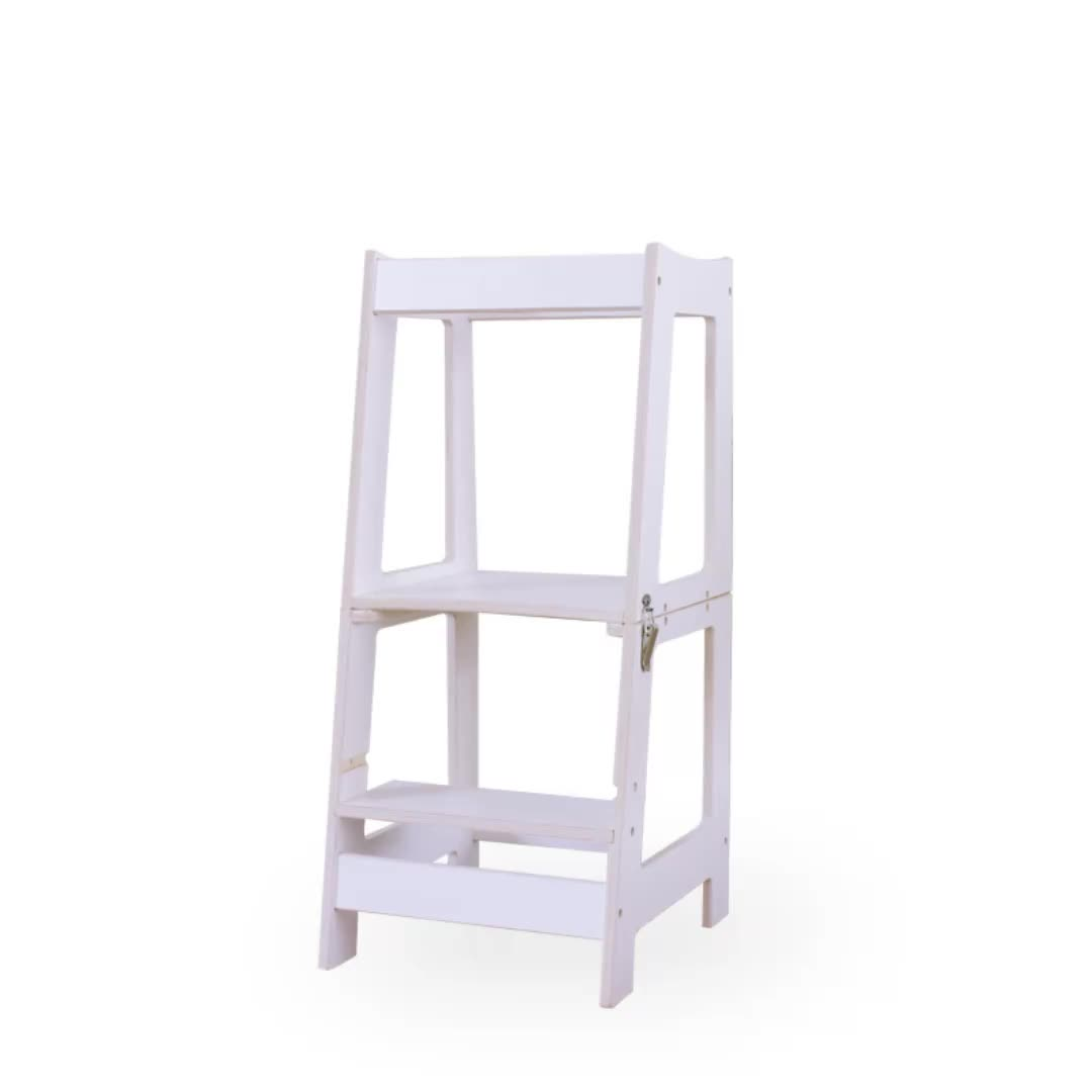 Nonfolded And Foldable Learning Tower Little Partners Learning Tower Toddler Kitchen Helper Stool Kitchen Helper Kids