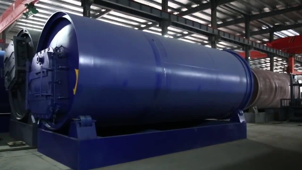 Huisdier fles afval plastic recycling machine productielijn brandstof diesel olie