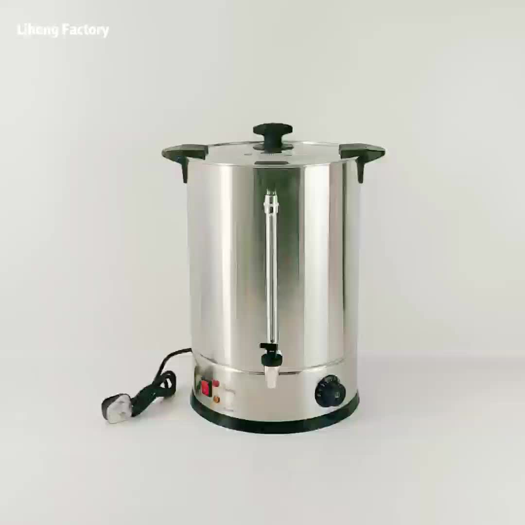 Wholesale 45L Stainless steel Stainless steel Electrothermal barrels Water bucket for boiling