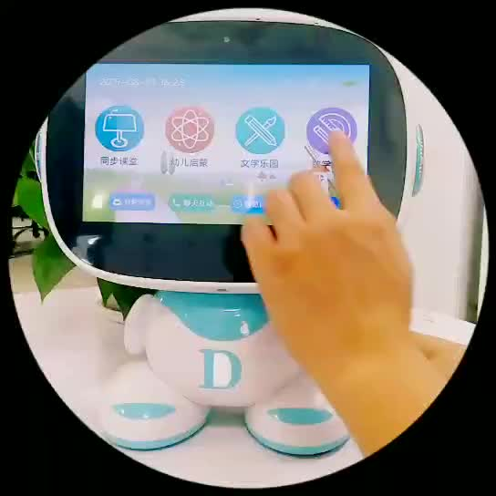 New  hotselling smart early education toy robot 7 inch  for kid child learning chinese english