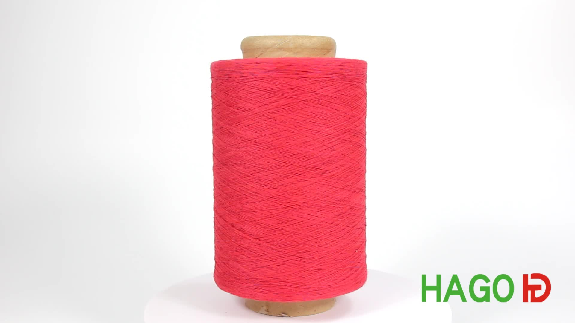 Hago recycled cotton polyester blend yarn 70 30 knit yarn for knitting