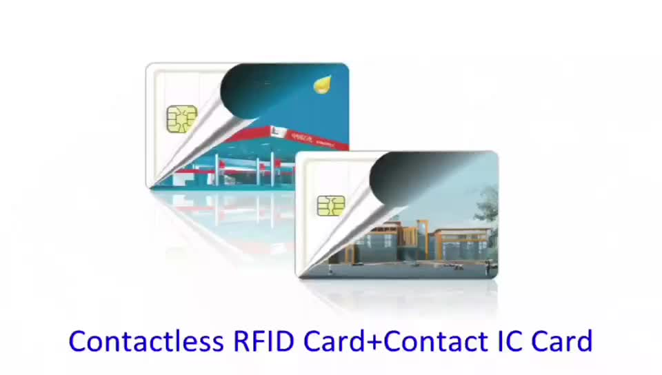 Custom Low Cost Inkjet Printable PVC Rfid Card 125Khz Rewritable Rfid Card Printed With adhesive