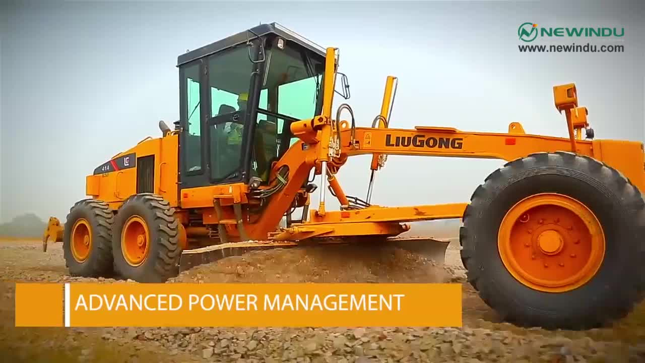 Hot sale new Liugong motor grader CLG4180 with cheap price