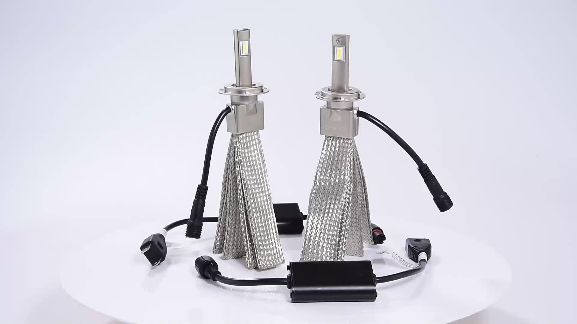 Hotselling Led Voiture Phare H1 H3 H4 H7 9005 9006 9012 X7B 7000lm Led CANBUS Phare Voiture Led Ampoules