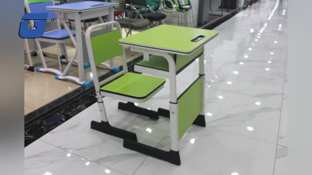 Double Modern Single Adjustable Plastic For Sale Furniture Nursery Cheap Used With Attached Manufacturers And Chair School Desk