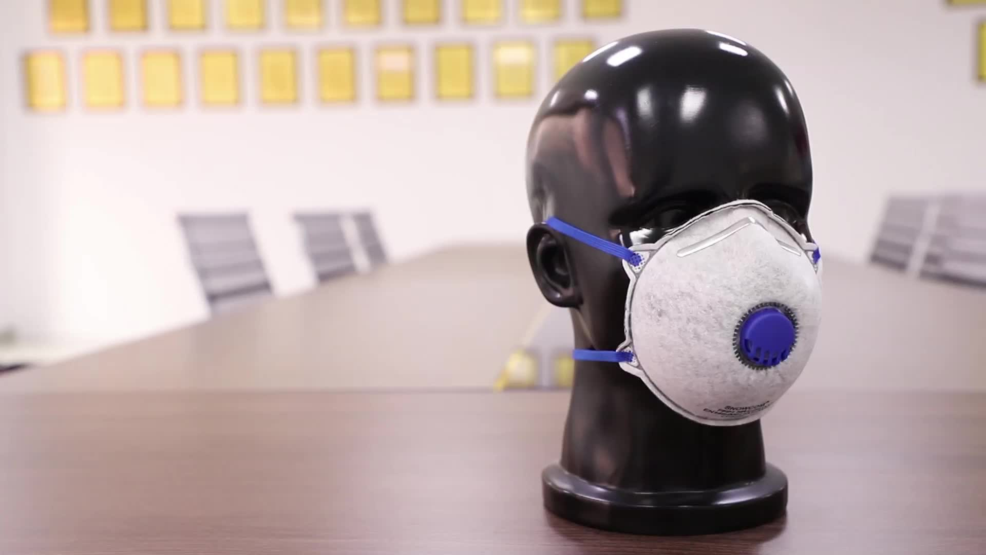 EN149 respirator dustproof mask ffp1 ffp2
