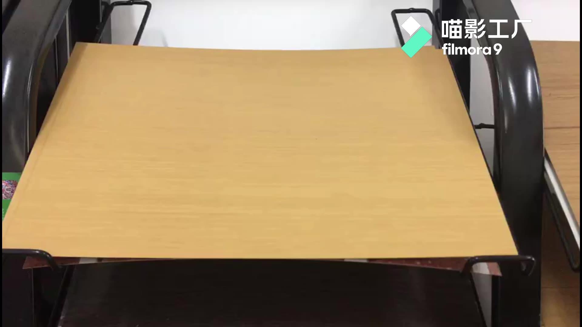 באיכות גבוהה בצבע עץ בצבע עץ מודפס גיליון קירוי מתכת גיליון