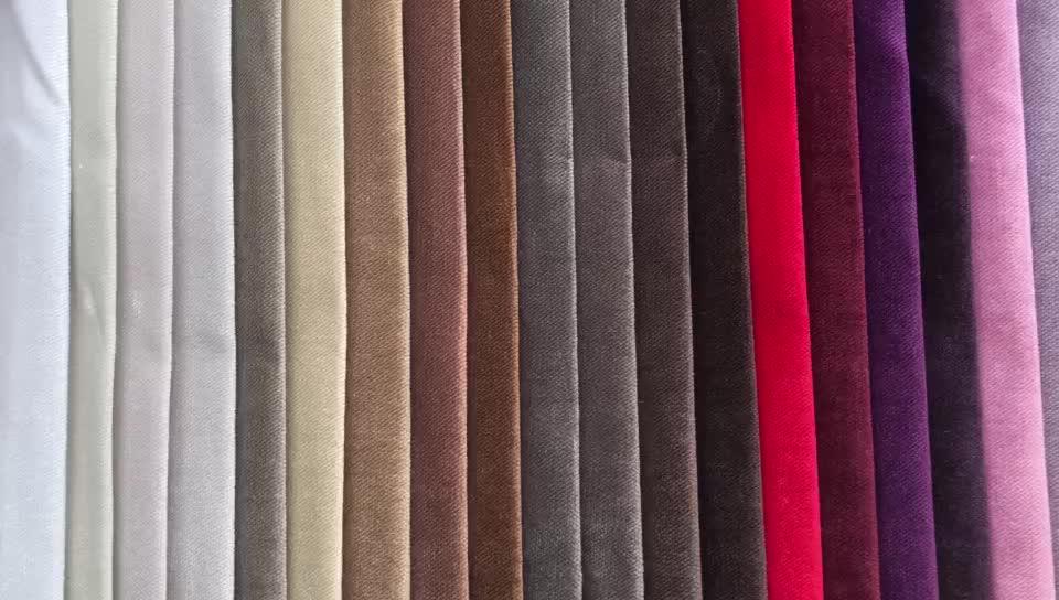 % 100 polyester jaguar kadife döşemelik koltuk kumaşı