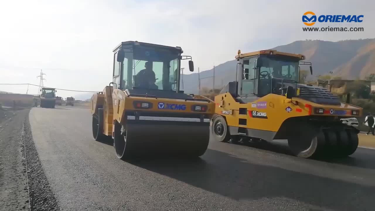 XCMG Official 22 Ton Road Roller XS223H with Vibratory Single Drum