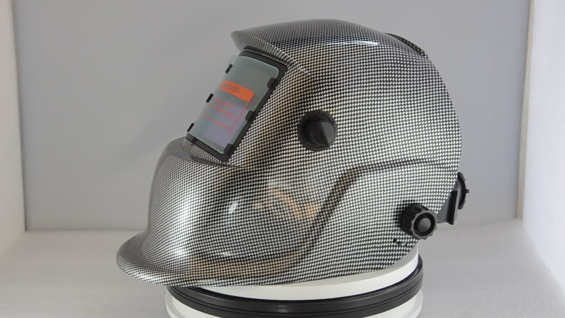 Auto-Thẫm Màu Hàn Khuôn Mặt Lá Chắn Mũ Bảo Hiểm