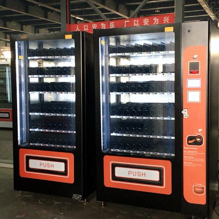 Novas máquinas de venda de lanches personalizadas de alta qualidade para tailândia
