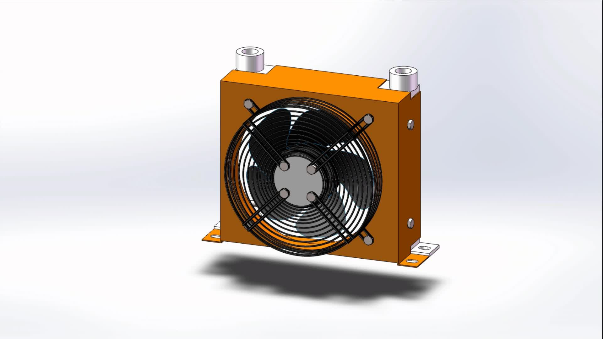 Hydraulic Power Unit With Oil Pump Electric Motor Filter