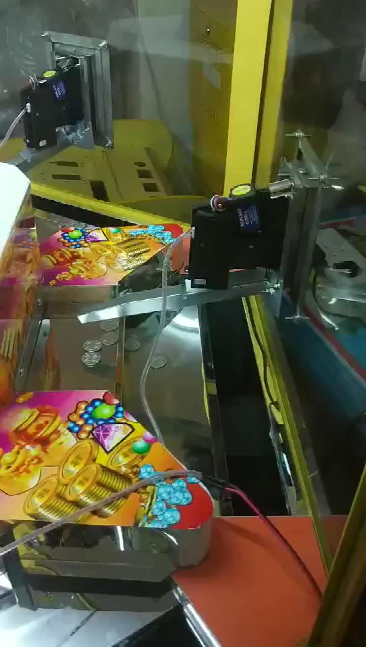 Groothandel Duwen Munten Machine Coin Pusher Machine Voor 6 Spelers