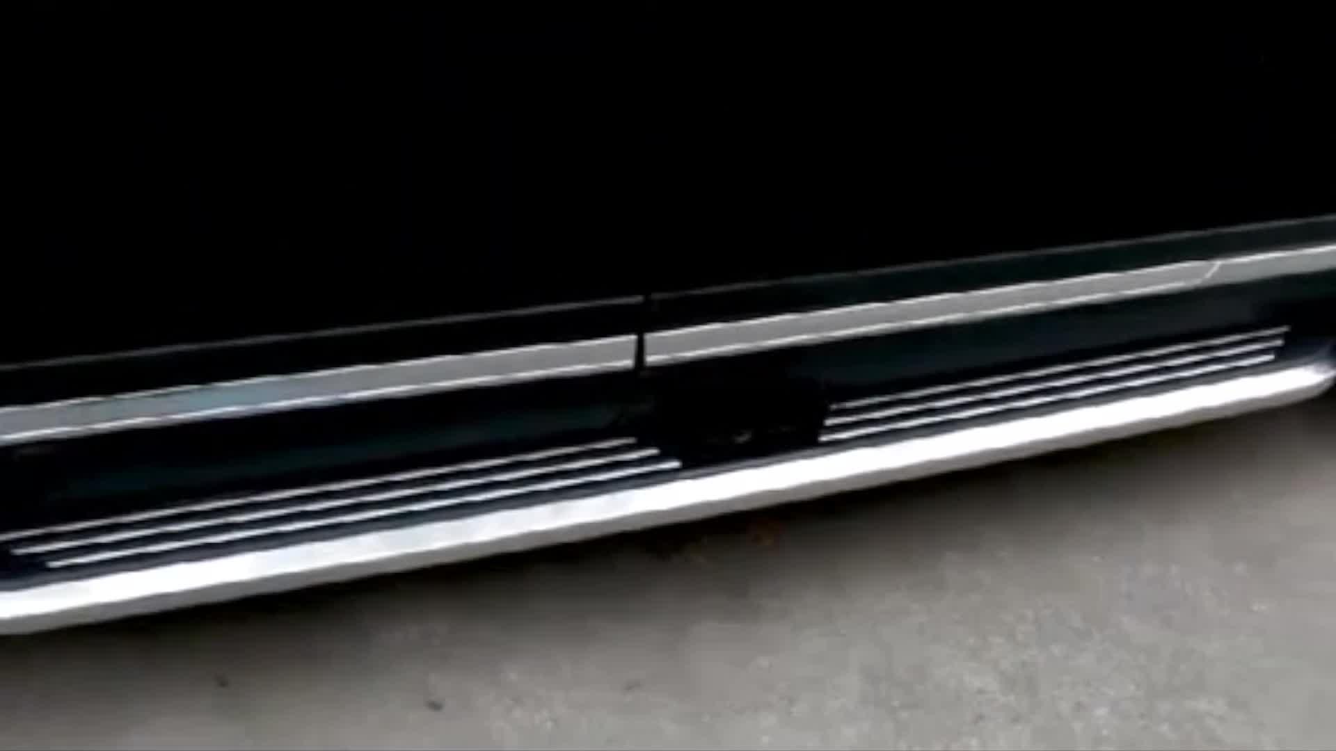 SUV รถวิ่งบอร์ดอลูมิเนียมและพลาสติก ABS ด้านข้างสำหรับ FORD 2013 explorer
