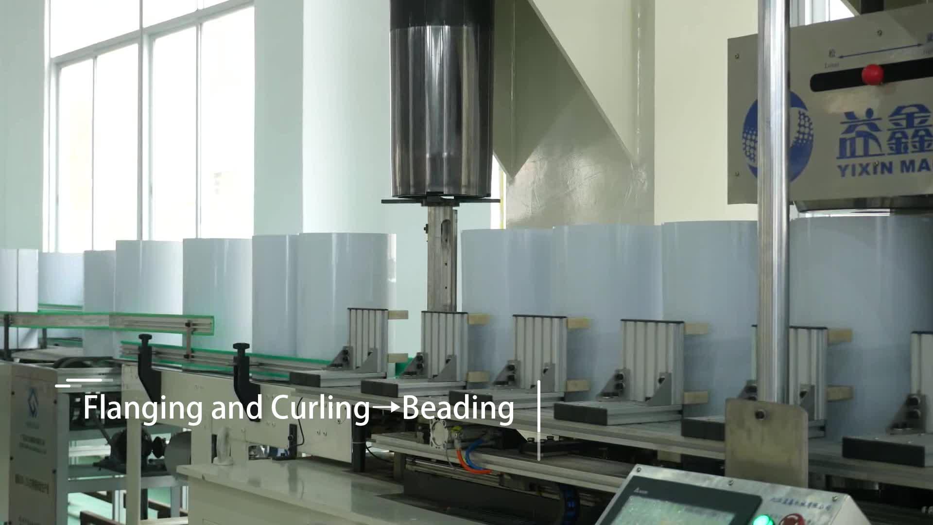 Yixin Tecnologia Industria Chimica Vernice Più Sottile Può Automatico Barattolo di latta Macchina