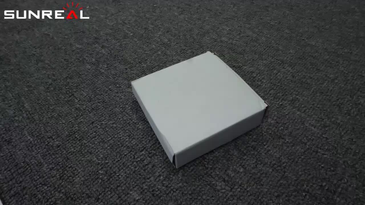 Sıcak satış 8LED Güneş Enerjili Disk Işıkları Bahçe için