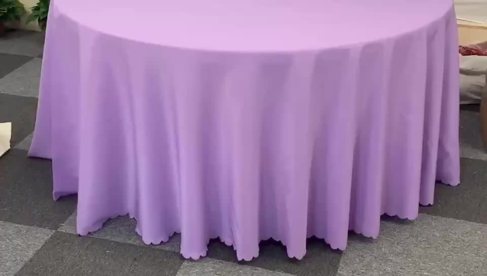 Wedding Reception Restaurant Banquet Party 90 round royal blue table clothes