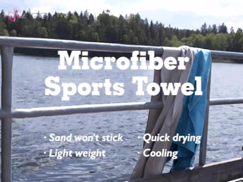 ÜCRETSIZ ÖRNEK Çok amaçlı Mikrofiber Süet spor havlusu Hızlı Kuru Seyahat Spor Havlu