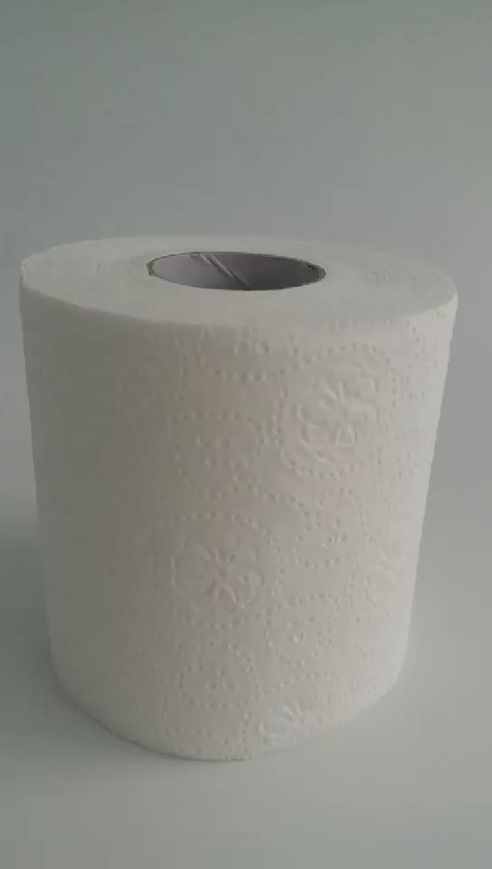High Quality  Custom Printed Factory direct white Toilet Paper Tissue, Virgin recycled 1 ply 2ply 3 ply Toilet Paper