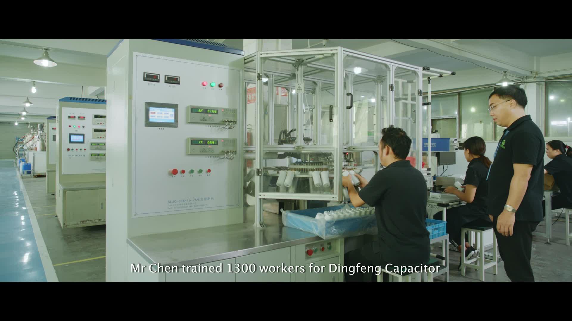 CBB61 sh 3.5mfd 250V-450V AC 50/60HZ wire lead fan capacitor