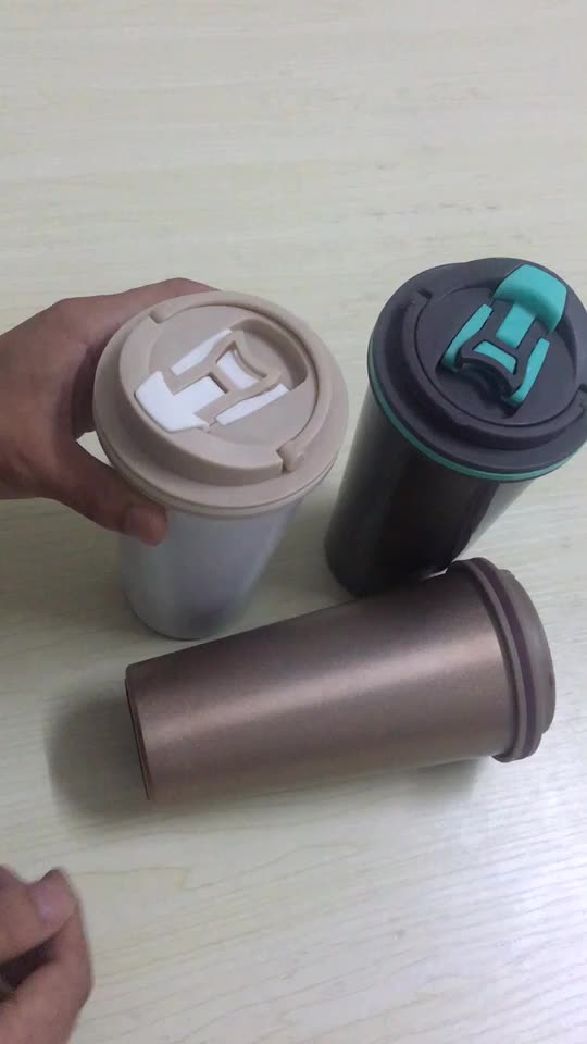 500ml Double Wall Thermos Vacuum Flask Insulated Thermo Coffee Cup
