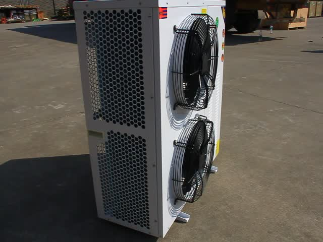 Factory Sale Low Temperature Box Type Copeland 3PH 6HP 10HP bitzer Air Cooled Condensing Units For With R404 Refrigerant