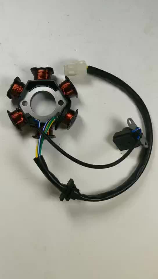 Copper Wire Motorcycle Rusi 125 Magneto Stator Coil