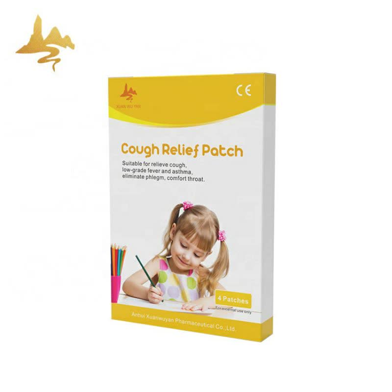 Health Care Products Organic Herbal Baby Cough Relief Patch For Fever And Cold
