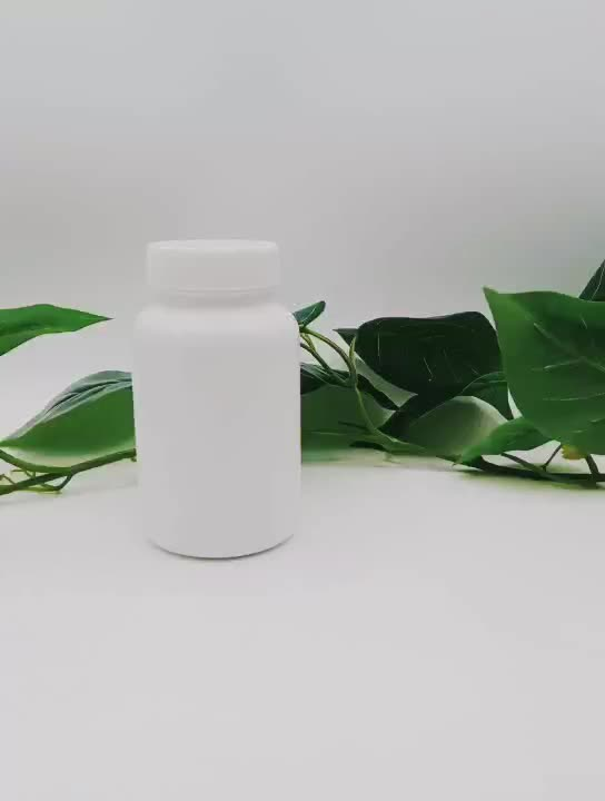 Factory hot sales 225ml hdpe plastic bottle for capsule medical or pill